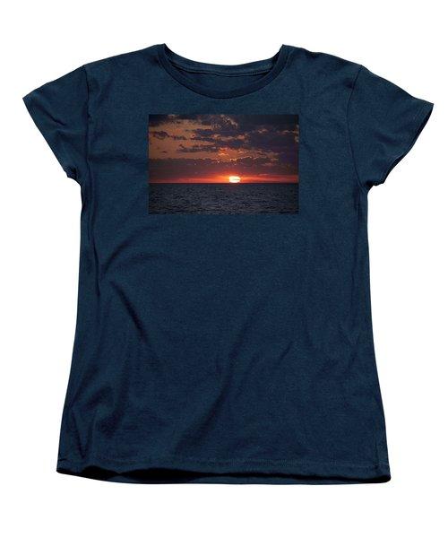 Looking Back In Time Women's T-Shirt (Standard Cut) by Daniel Sheldon