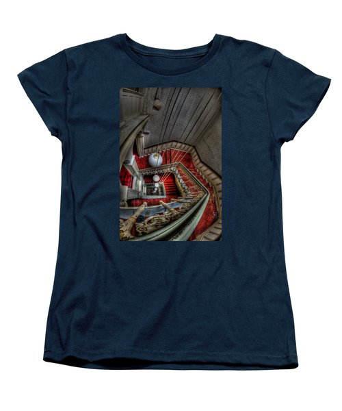 Looking Down On Beauty Women's T-Shirt (Standard Cut) by Nathan Wright