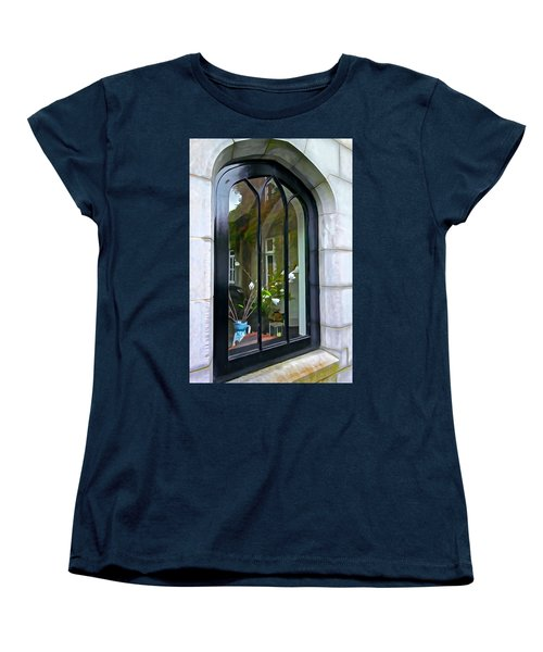Women's T-Shirt (Standard Cut) featuring the photograph Looking In by Charlie and Norma Brock