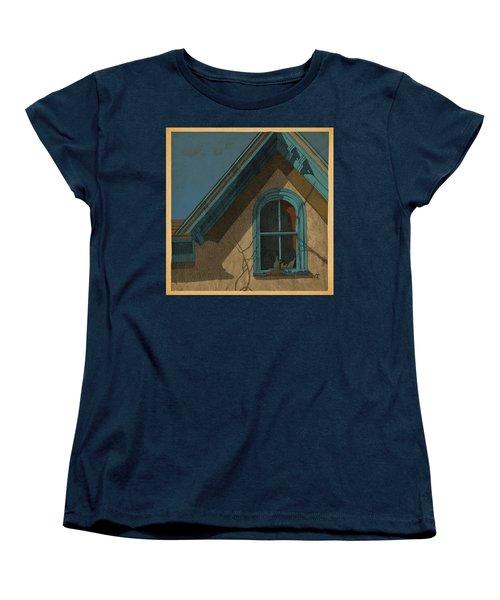 Looking In Women's T-Shirt (Standard Cut) by Meg Shearer
