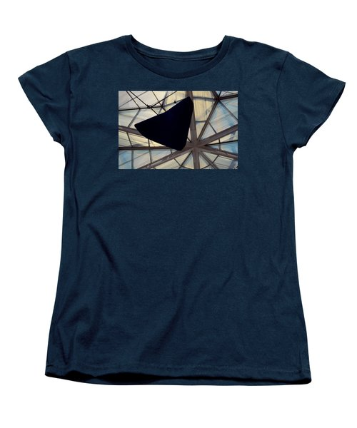 Looking Up At The East Wing Women's T-Shirt (Standard Cut) by Stuart Litoff