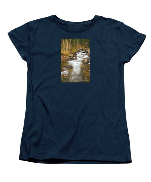 Looking Upstream Women's T-Shirt (Standard Cut) by Alice Cahill