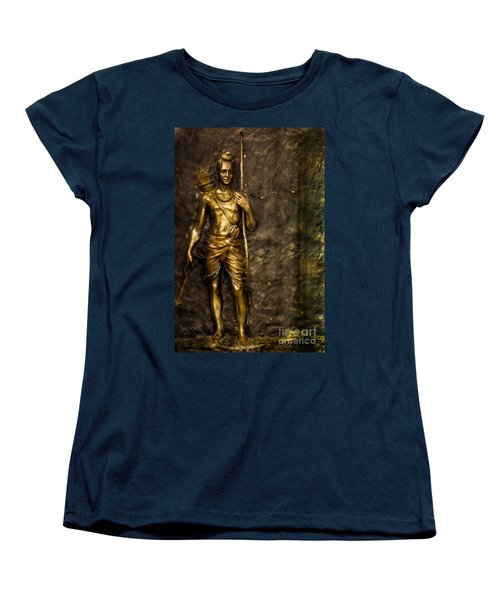 Lord Sri Ram Women's T-Shirt (Standard Cut) by Kiran Joshi