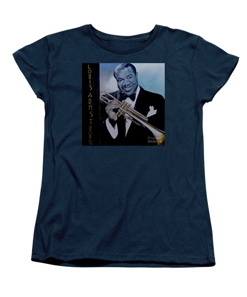 Louis Armstrong Women's T-Shirt (Standard Cut)