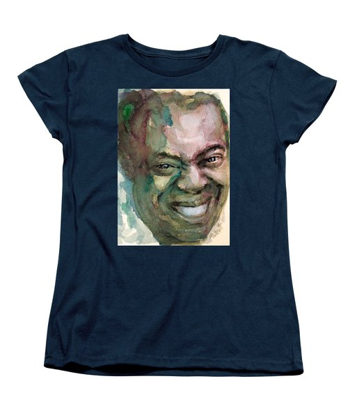 Louis Armstrong Women's T-Shirt (Standard Cut) by Laur Iduc