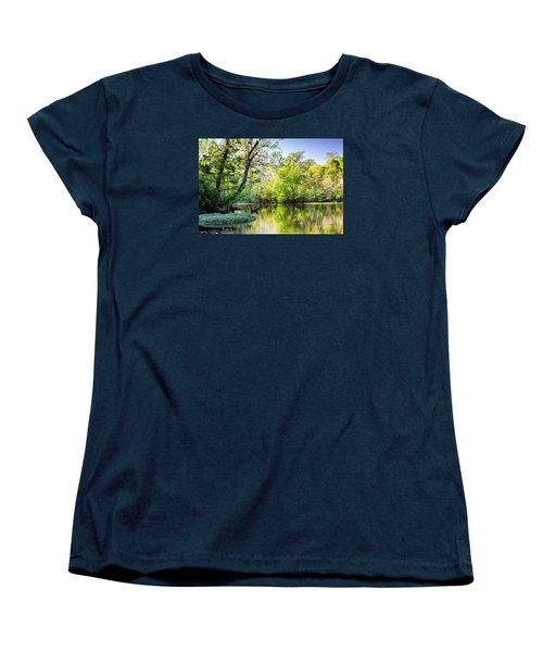Louisiana Bayou Women's T-Shirt (Standard Cut) by Kathleen K Parker
