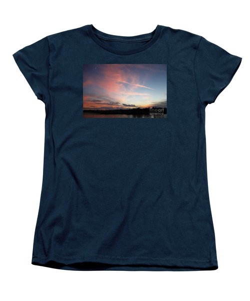Louisiana Sunset In Lacombe Women's T-Shirt (Standard Cut) by Luana K Perez
