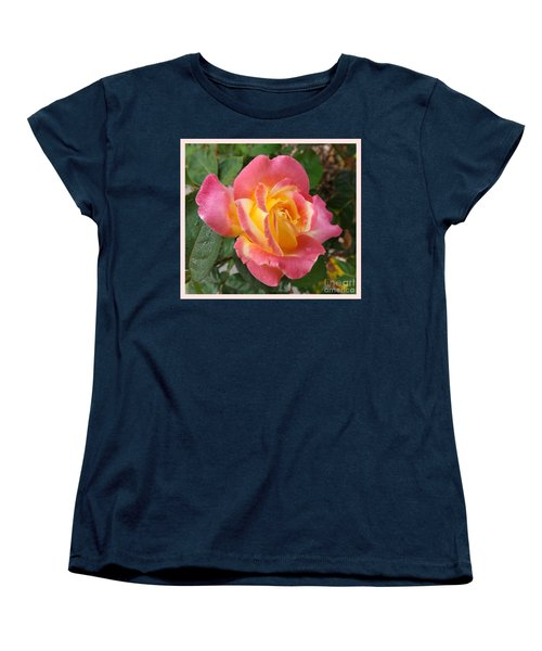Love And Peace Women's T-Shirt (Standard Cut) by Sara  Raber