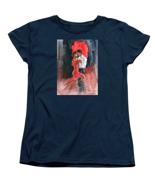 Love And Tango Women's T-Shirt (Standard Cut) by Melly Terpening