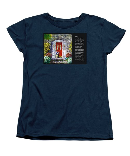 Love Women's T-Shirt (Standard Cut) by Ron Haist