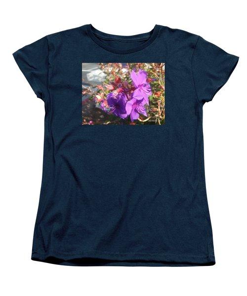 Women's T-Shirt (Standard Cut) featuring the photograph Lovely Purple Flower by Jasna Gopic