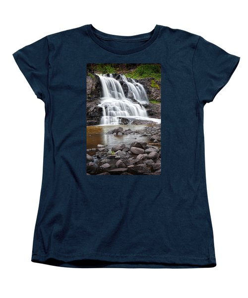 Lower Gooseberry Falls Women's T-Shirt (Standard Cut)