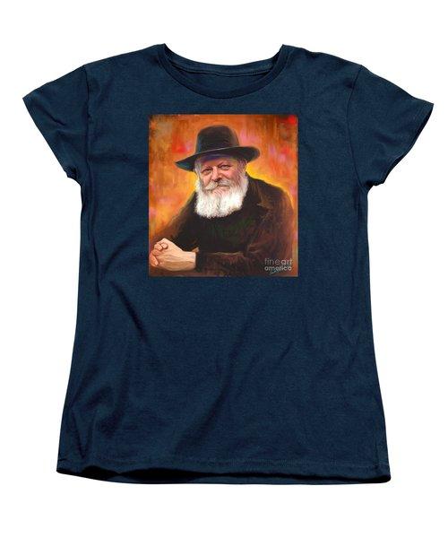 Lubavitcher Rebbe Women's T-Shirt (Standard Cut)