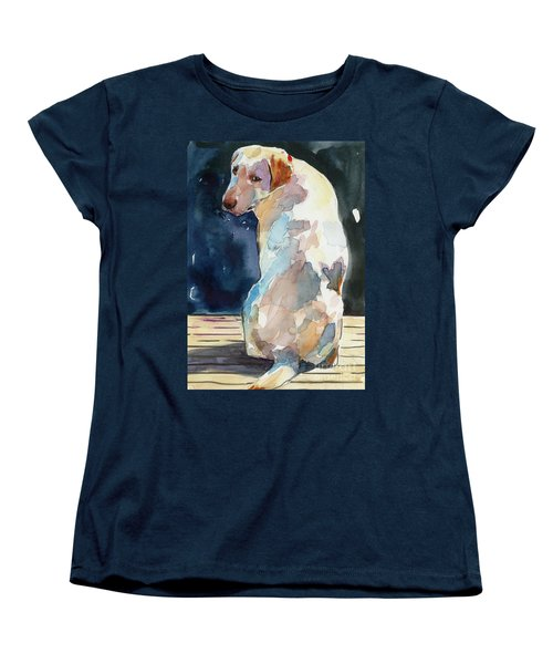 Lucy Moon Women's T-Shirt (Standard Cut) by Molly Poole