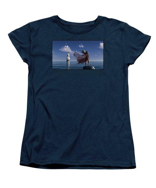 Lure Of The Siren... Women's T-Shirt (Standard Cut)