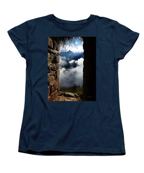 Machu Picchu Peru 4 Women's T-Shirt (Standard Cut) by Xueling Zou