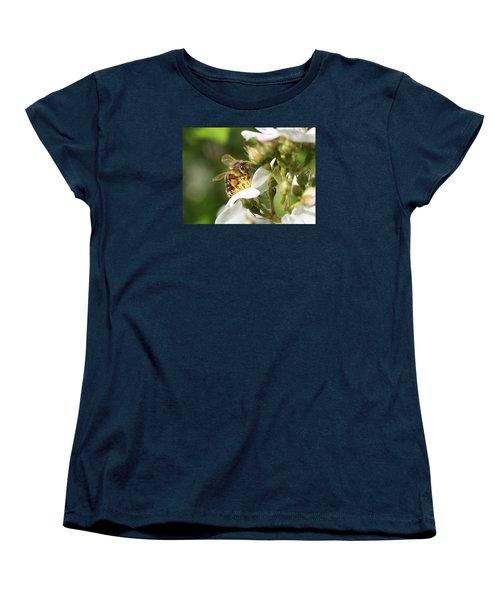 Mad Honeybee Women's T-Shirt (Standard Cut) by Lucinda VanVleck