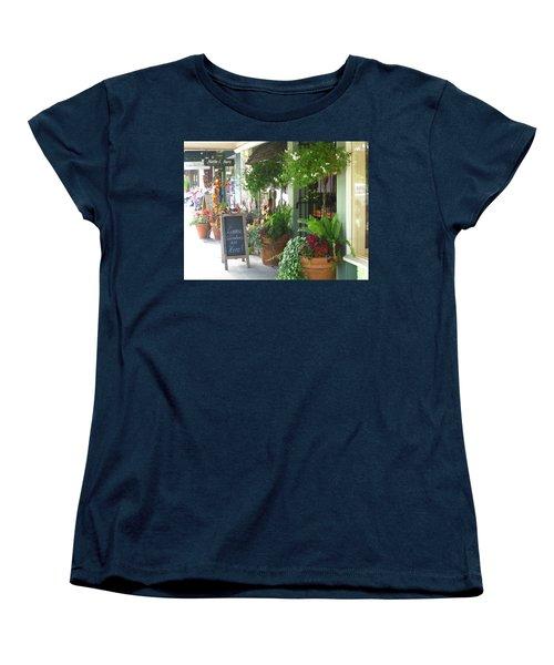 Madison Valley Street Scene 2 Women's T-Shirt (Standard Cut) by David Trotter