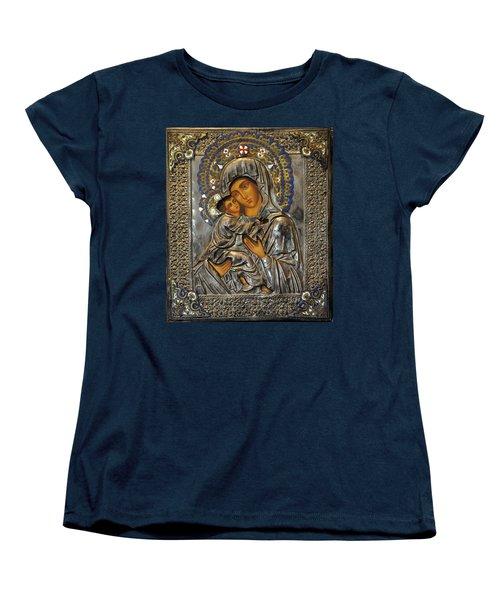 Madonna And Child Women's T-Shirt (Standard Cut)