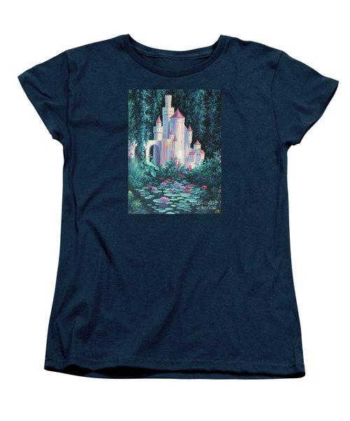 Magic Castle Women's T-Shirt (Standard Cut) by Vivien Rhyan