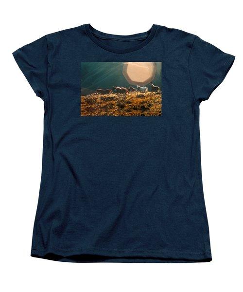 Magical Herd Women's T-Shirt (Standard Cut) by Melinda Hughes-Berland