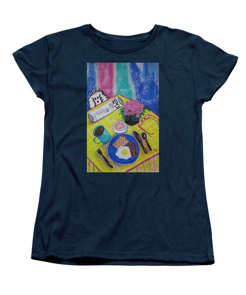 Makin' His Move Women's T-Shirt (Standard Cut) by Diane Pape