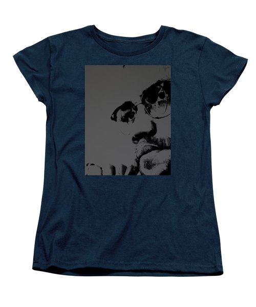 Malcolm X Women's T-Shirt (Standard Cut) by Brian Reaves