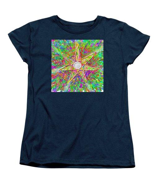 Mandala 1 22 2015 Women's T-Shirt (Standard Cut) by Hidden  Mountain
