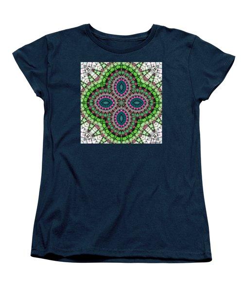 Mandala 111 Women's T-Shirt (Standard Cut) by Terry Reynoldson