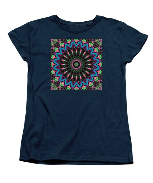 Mandala 35 Women's T-Shirt (Standard Cut) by Terry Reynoldson