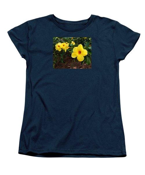 Mandevilla Women's T-Shirt (Standard Cut) by Judy Vincent