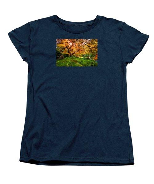 Maple  Women's T-Shirt (Standard Cut) by Dustin  LeFevre