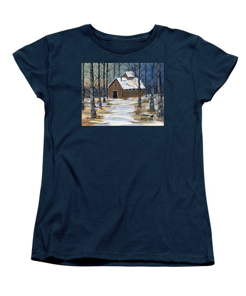 Maple Syrup Shack Women's T-Shirt (Standard Cut) by Brenda Brown