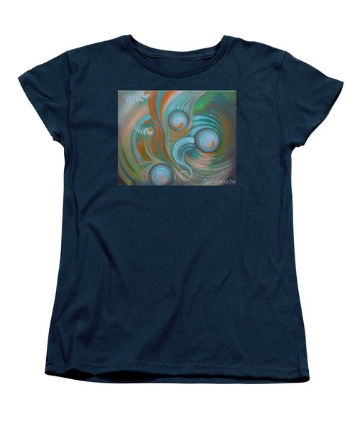 Marble Madness Women's T-Shirt (Standard Cut)