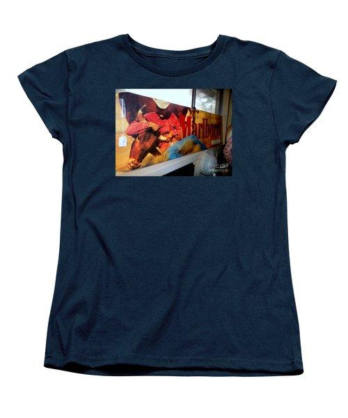 Marlboro Man Women's T-Shirt (Standard Cut) by Ed Weidman