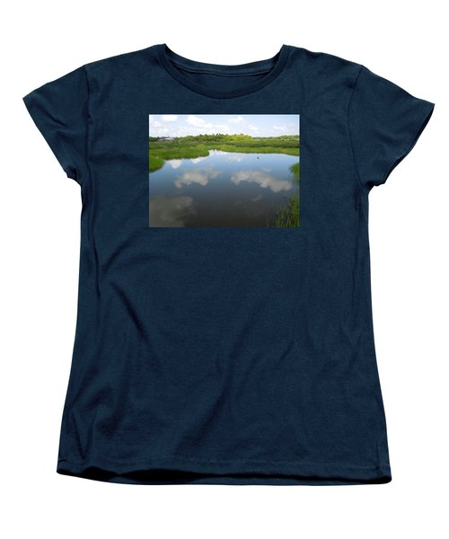 Marshland Women's T-Shirt (Standard Cut) by Ron Davidson