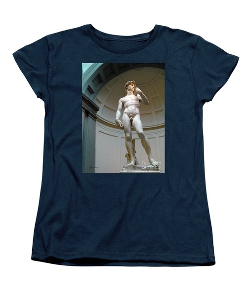 Masterpiece David.florence Women's T-Shirt (Standard Cut) by Jennie Breeze