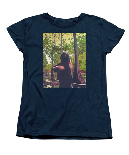 May Morning Arkansas River 5 Women's T-Shirt (Standard Cut) by Thu Nguyen