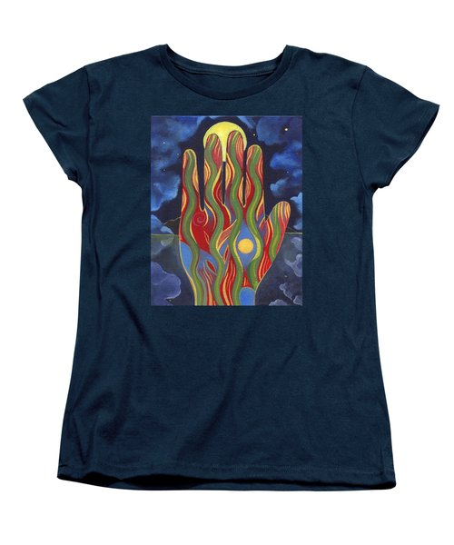 May Nature Support You Women's T-Shirt (Standard Cut) by Helena Tiainen