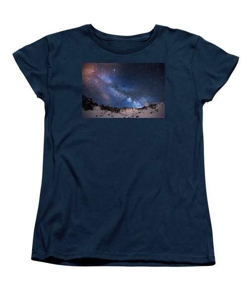 Mayflower Gulch Milky Way Women's T-Shirt (Standard Cut)