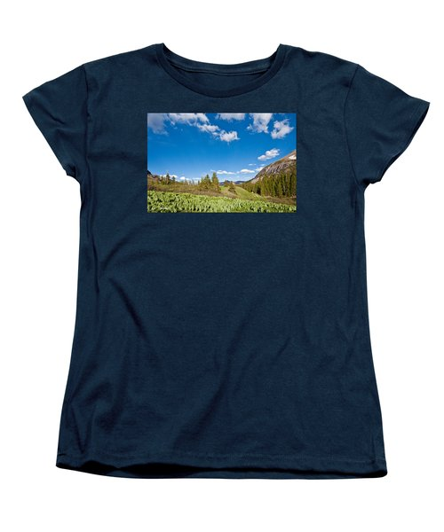 Meadow Of False Hellebore Women's T-Shirt (Standard Cut) by Jeff Goulden