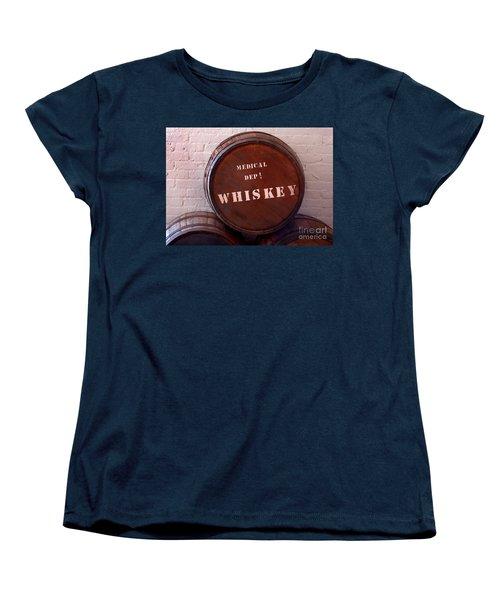 Medical Wiskey Barrel Women's T-Shirt (Standard Cut) by Phil Cardamone
