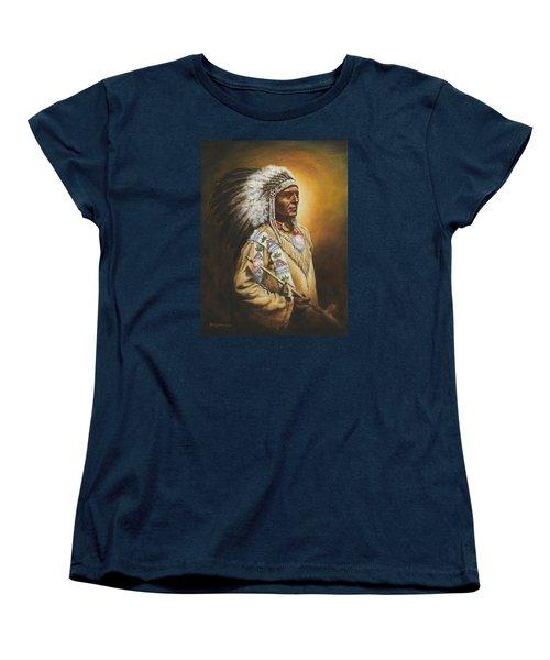 Medicine Chief Women's T-Shirt (Standard Cut) by Kim Lockman