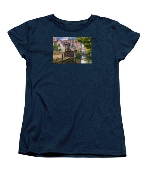 Medieval Bruges Women's T-Shirt (Standard Cut) by Juli Scalzi