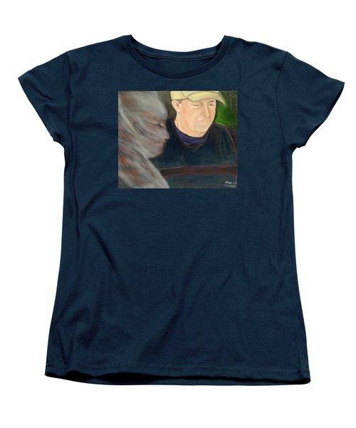 Memory's Widow Women's T-Shirt (Standard Cut) by Lisa Brandel