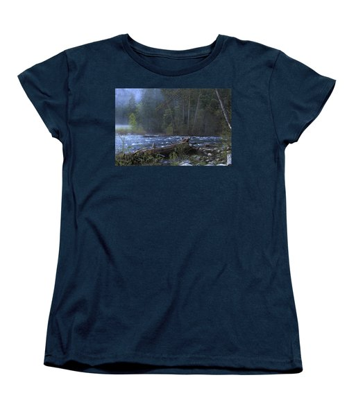 Merced River Women's T-Shirt (Standard Cut) by Duncan Selby