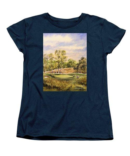 Merion Golf Club Women's T-Shirt (Standard Cut) by Bill Holkham