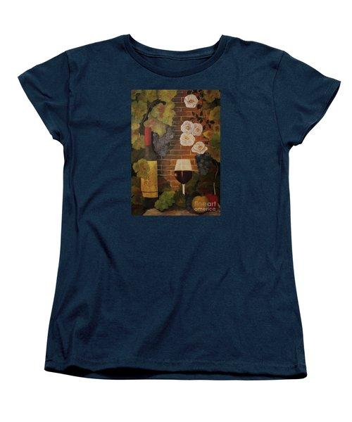 Merlot For The Love Of Wine Women's T-Shirt (Standard Cut) by John Stuart Webbstock
