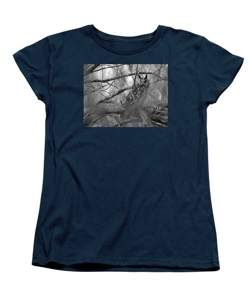 Mesmerizing Eyes Women's T-Shirt (Standard Cut) by James Peterson