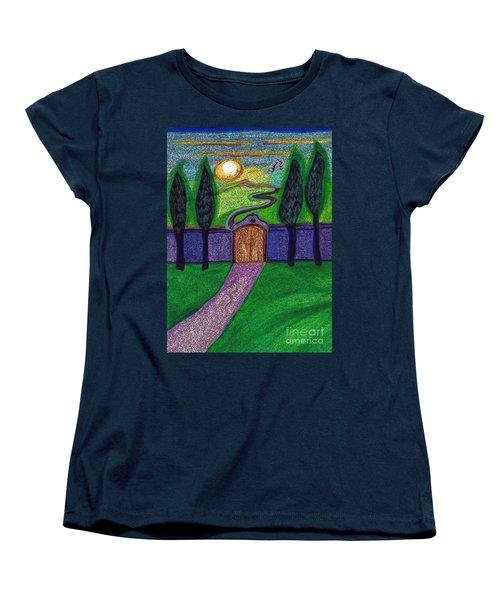 Metaphor Door By Jrr Women's T-Shirt (Standard Cut) by First Star Art